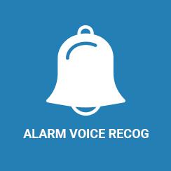 Alarm Voice Recording App