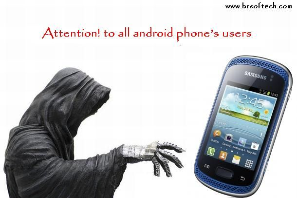 Attention! to all android phone's users for hacking