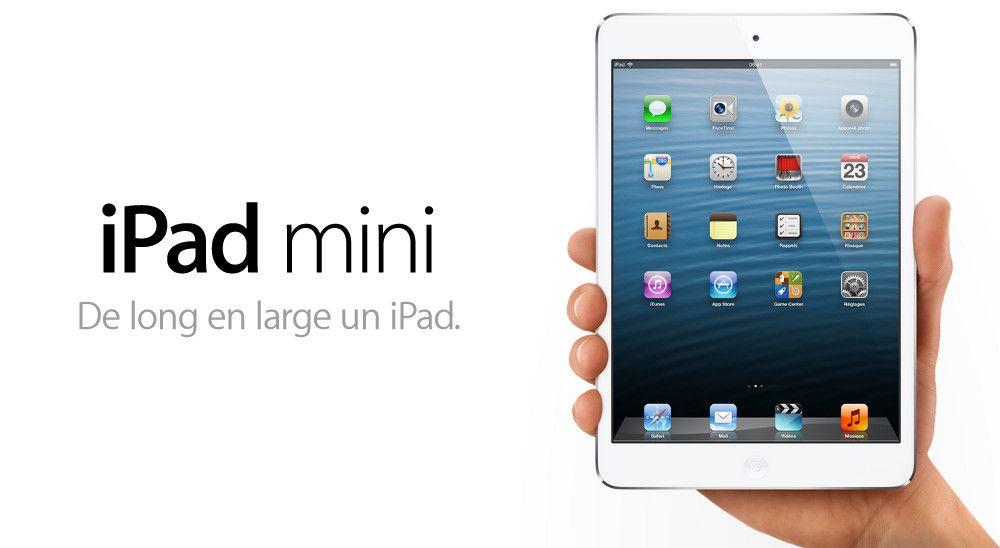 Apple ready to unwrap mini IPad