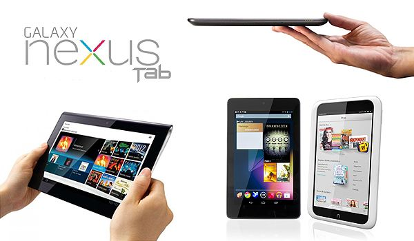 images of google nexus tablet and smartphone review