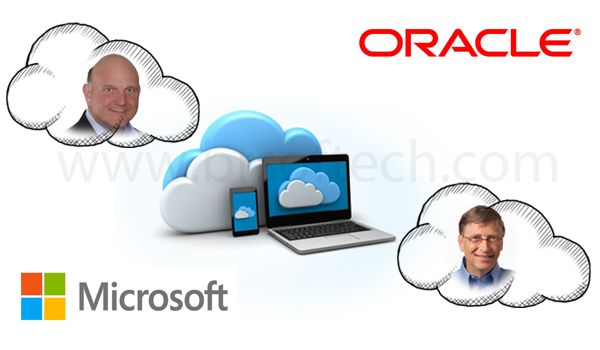 microsoft and oracle