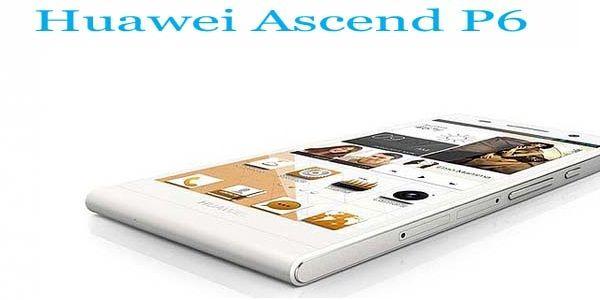 World's slimmest smartphone: Huawei Ascend P6