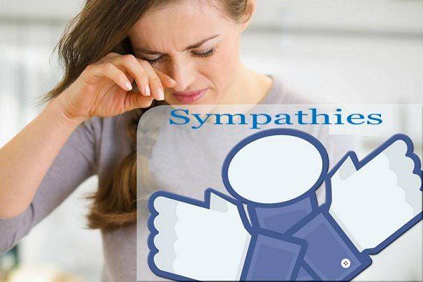facebook sympathies button
