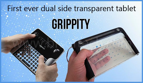 Grippity Transparent Tablet