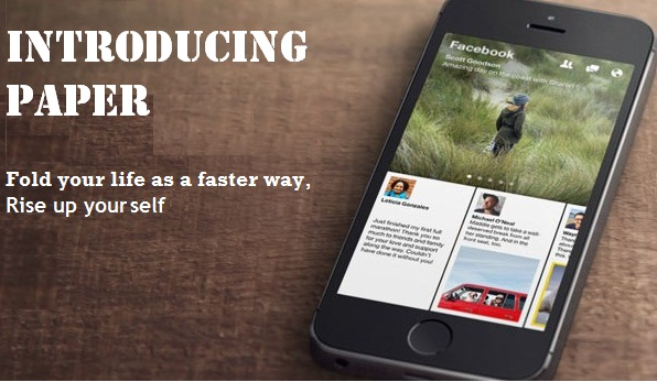 facebook paper app for iphone & android