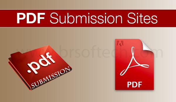 pdf submission site list 2014