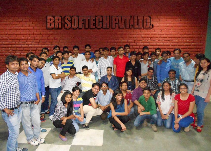 BR Softech party swapanlok resort in jaipur