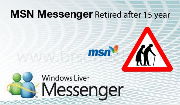 MSN Messenger Retired after 15 years