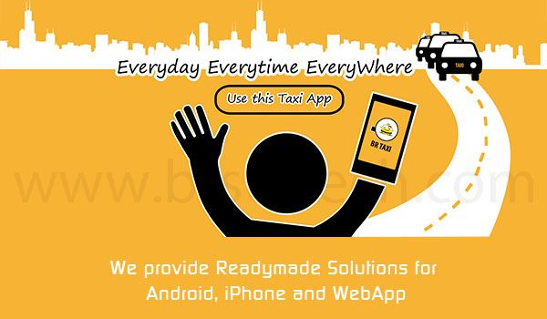 Taxi App: Use This for Every Time, Every Where