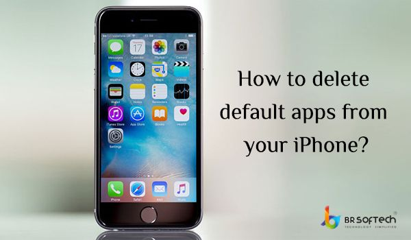 How to delete default apps from your iPhone?