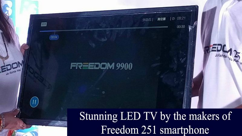Stunning LED TV by the Makers of Freedom 251