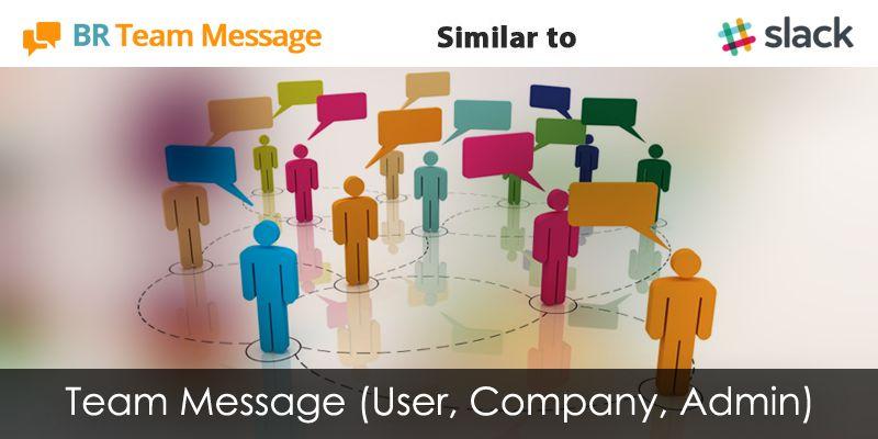 Similar Team-Message app like slack