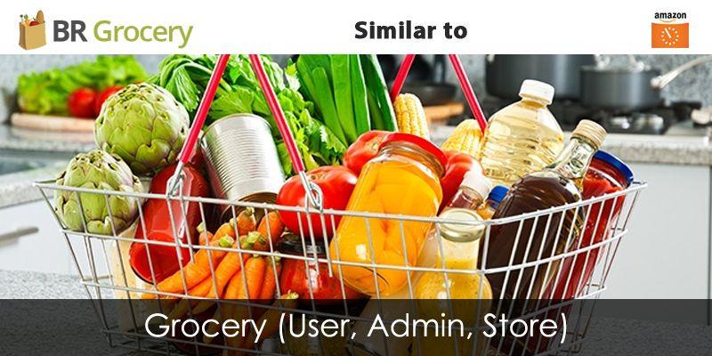 grocery app source code
