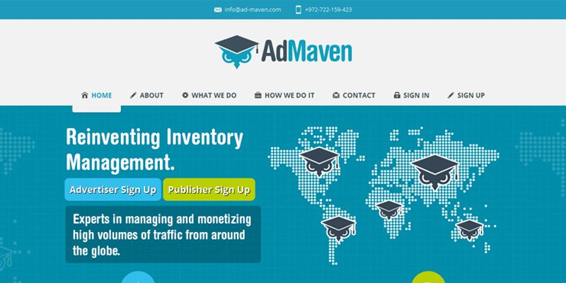 Best paying Adsense Alternatives for your websites - AD -Maven