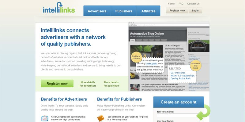 Best paying Adsense Alternatives for your websites - intellilinks