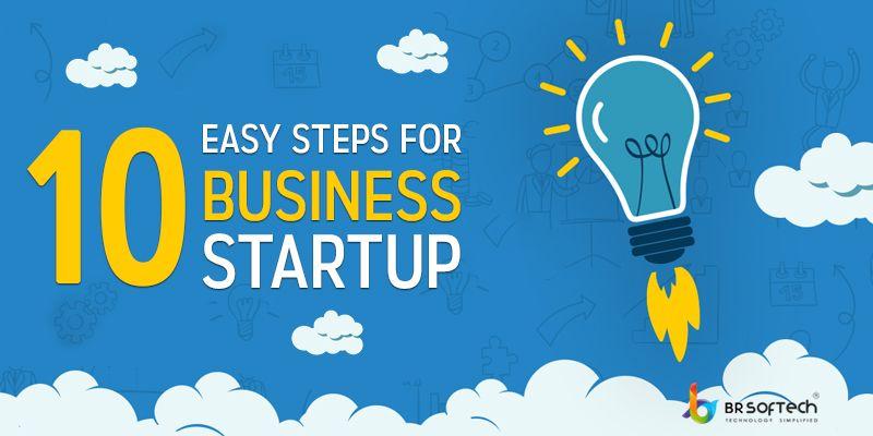 10 Easy Steps For Startup Business