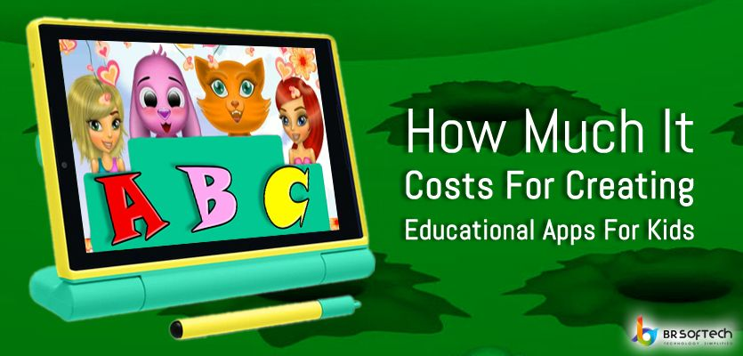 How much it costs for creating educational apps for kids