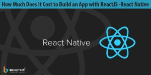 How Much Does It Cost to Build an App with ReactJS -React Native