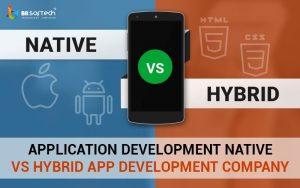 Application Development Native vs Hybrid App Development Company