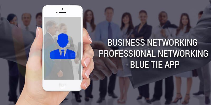 Business Networking Professional Networking - Blue Tie App