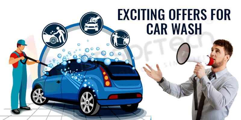 Exciting offers for car wash