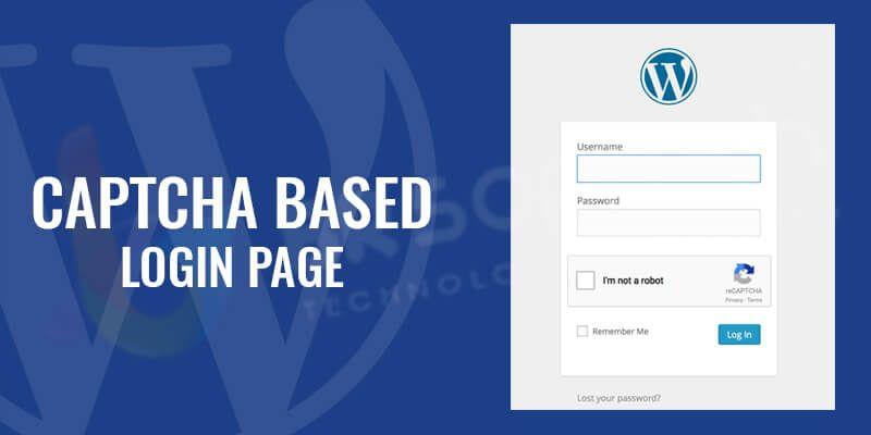 Captcha Based Login Page