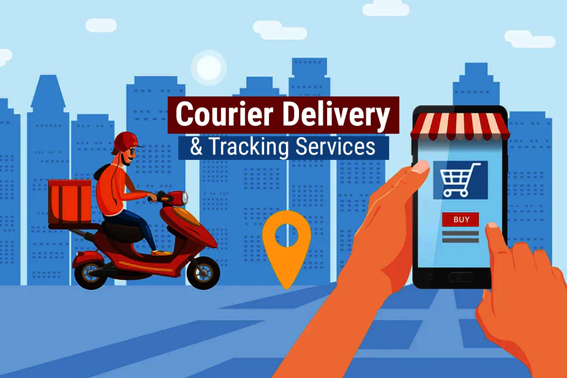 Courier mobile app/website development