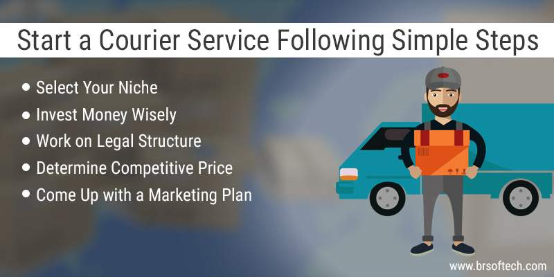Start a Courier Service Following Simple Steps