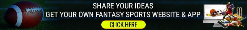 Fantasy sports website and app development