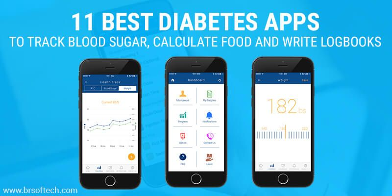 11 Best Diabetes Apps to Track Blood Sugar, Calculate Food and Write Logbooks