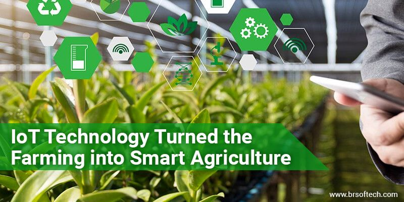 IoT Technology Turned the Farming into Smart Agriculture