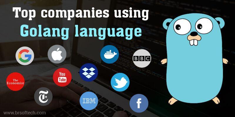 Top companies using Golang language