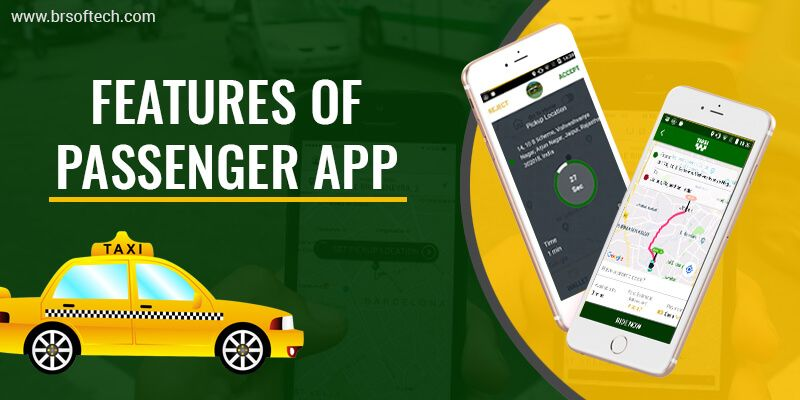 Features of Passenger App