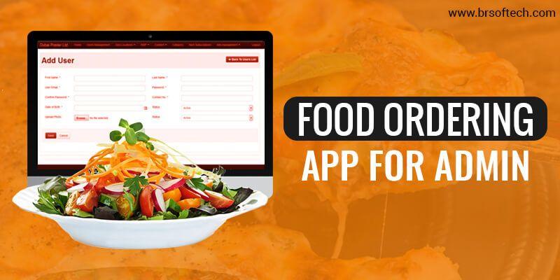 Food Ordering App For Admin