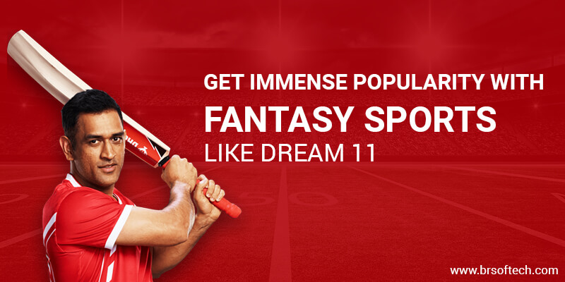 Get Immense Popularity with Fantasy Sports like Dream11