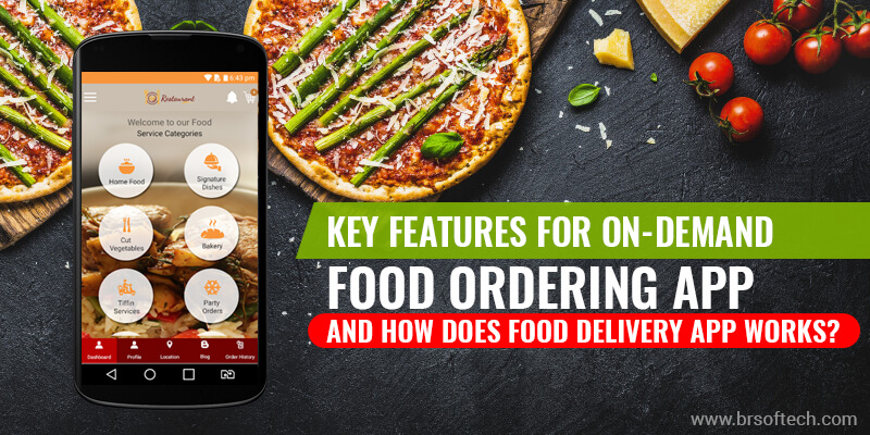 Key Features for On-Demand Food Ordering App and how does Food Delivery App Works?