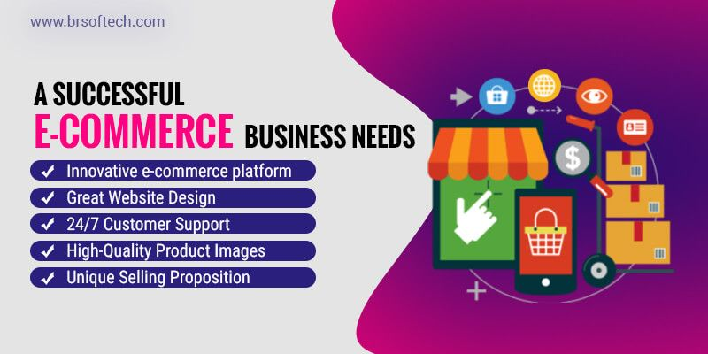 A successful e-commerce business needs