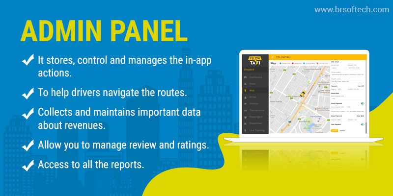 Features of Admin App