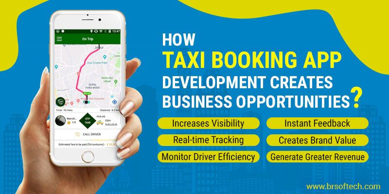How Taxi Booking App Development Creates Business Opportunities?