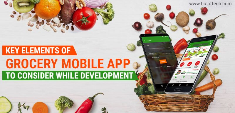 Key Elements of Grocery Mobile App To Consider While Development