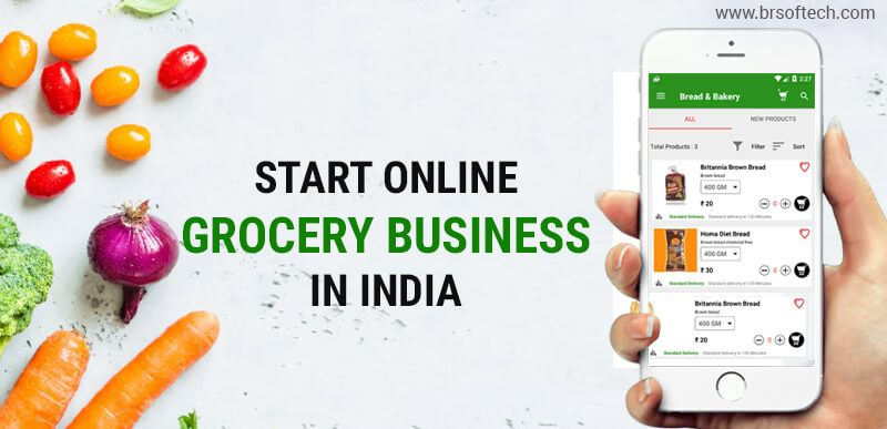 Start Online Grocery Business In India