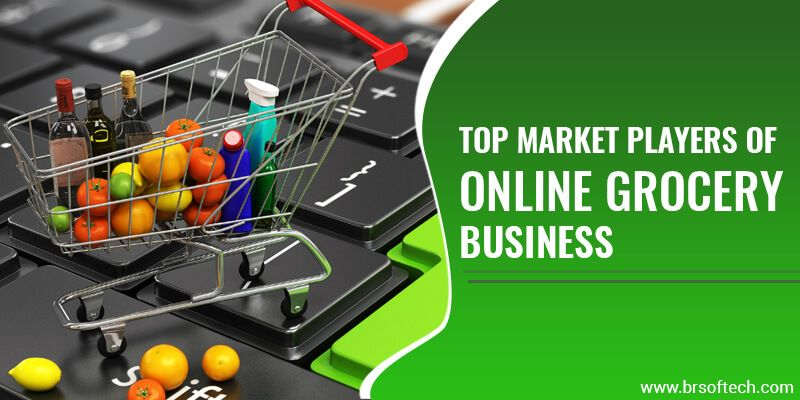 Top Market Players of Online Grocery Business