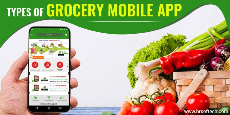 Types of Grocery Mobile App