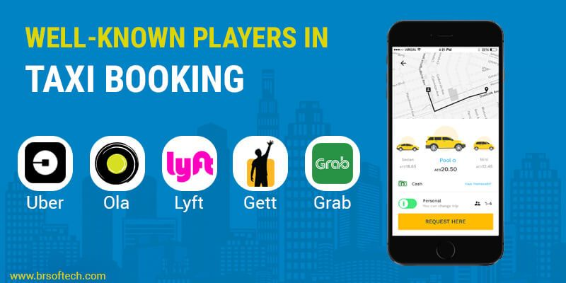 Well-known Players In Taxi Booking