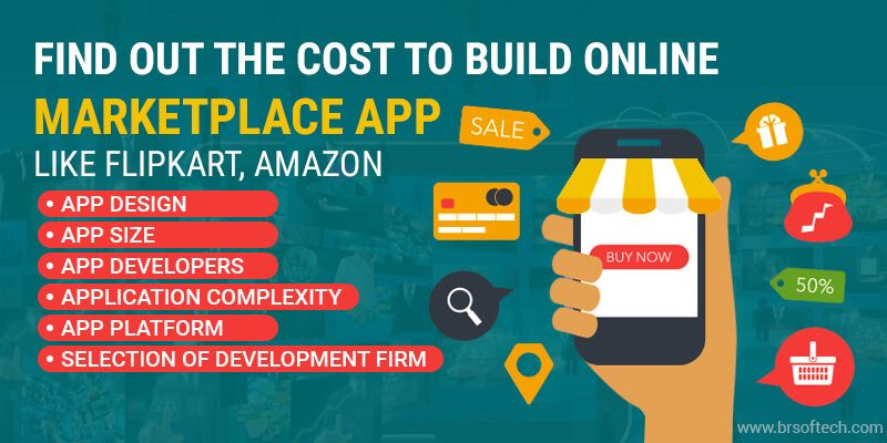 Find Out the Cost to Build Online Marketplace App Like Flipkart, Amazon