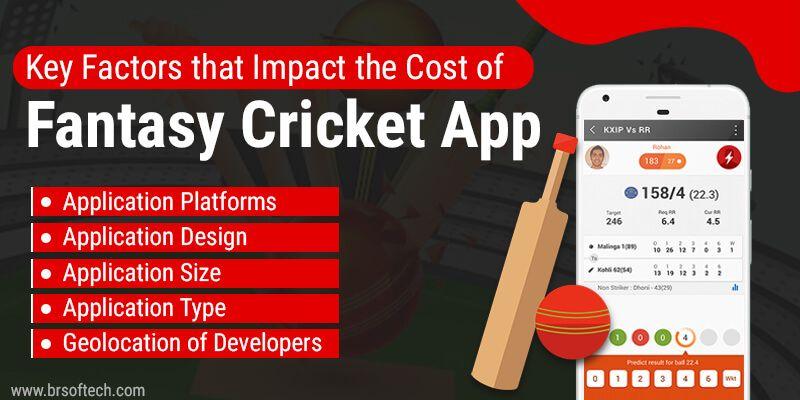 Key Factors that Impact the Cost of Fantasy Cricket App