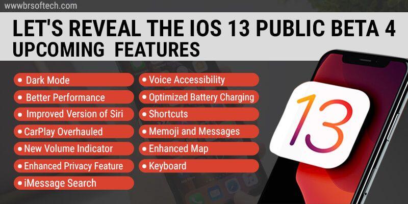 The-iOS 13 Public Beta 4 Upcoming--Features