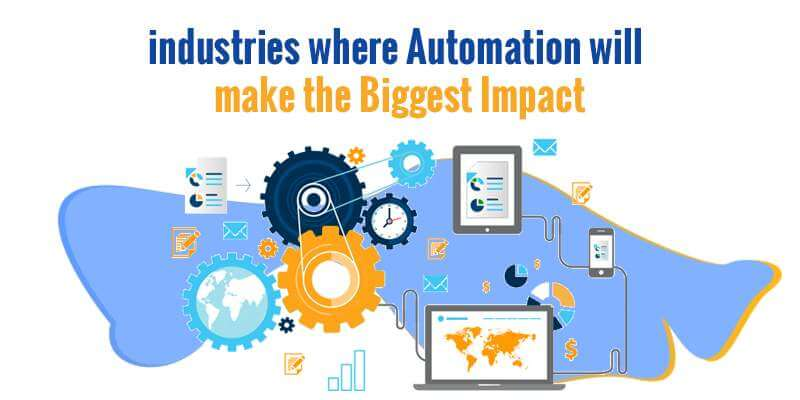 Top industries Automation, Biggest Impact.