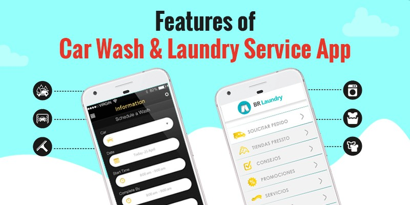 Features of Car Wash & Laundry Service App