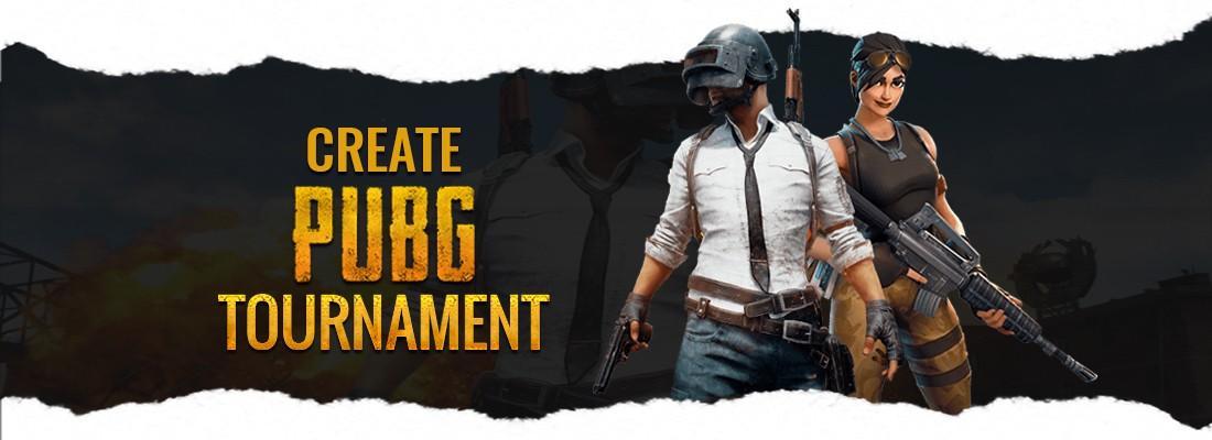 Create PUBG Tournament